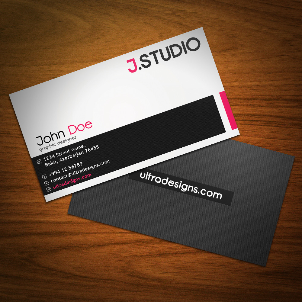 Custom Card Template creative business card designs : Professional and Creative Business Card Designs by ...