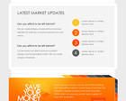 Clean and Modern E-newsletter Design  (PSD) by Alexlasek - 15644