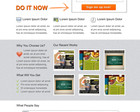 Convert PSD to Responsive On-Page SEO HTML5/CSS3 (Cross Browser Compatible) by xwisnux - 16768