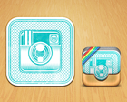 Professional Realistic iOS App Icon by weirdeetz - 1725