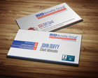 Double Sided Creative and Attractive Business Card by balavenkatesh - 22572