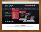 Creative & Professional One Page Web Design by yogags - 24560