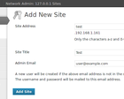 WordPress Multisite Installation by Merobox - 28073