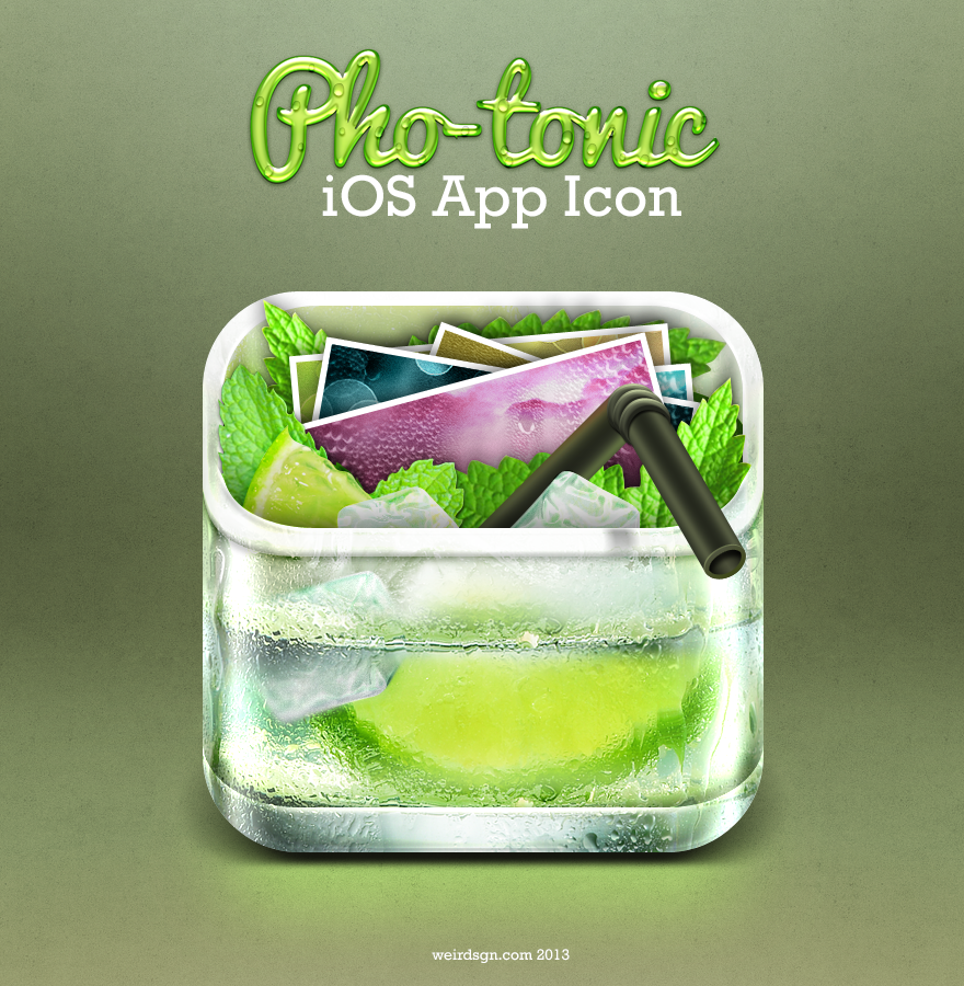 Professional Realistic iOS App Icon by weirdeetz - 2881