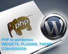Convert PHP to Wordpress plugins or Widgets by nyasro - 32216