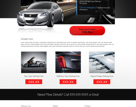 PSD to HTML5+CSS3 if required responsive by Catch_Maya - 39687
