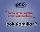 Fix PHP Errors and Problematic Code by willrowe - 34911