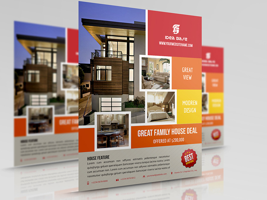 Publisher Real Estate Flyer Templates Real Estate Flyer Template by