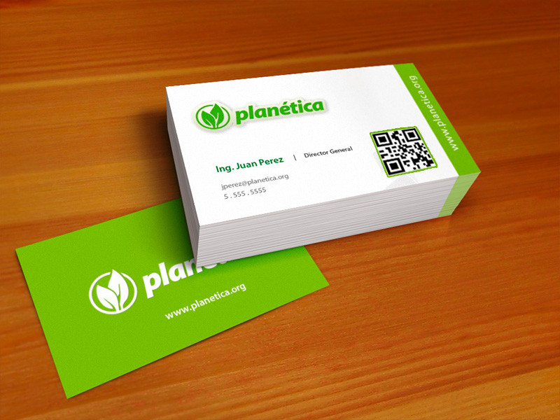 Creative business card design with qr code by pabloixx on for Create qr code business card