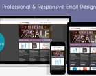 Responsive Email Newsletter Design by KyleFordrung - 39329