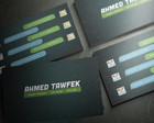 Professional Business Card Design  by ahmedtawfek - 6072