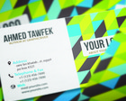 Professional Business Card Design  by ahmedtawfek - 6074