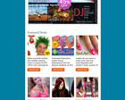 Customized Email Newsletter Design by rohanG - 6591