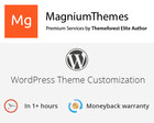 Premium WordPress Theme Customization (colors, features, layouts, etc) by Elite Author Team by dedalx - 60739
