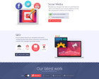 Premium Home or Landing Page Design by asaelv - 40507