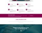 Professional  One  Page  Design  PSD by KonnstantinC - 52907