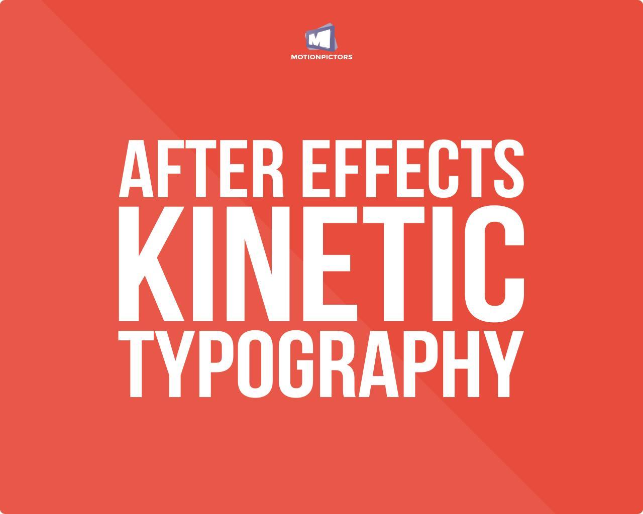 Infographic kinetic typography