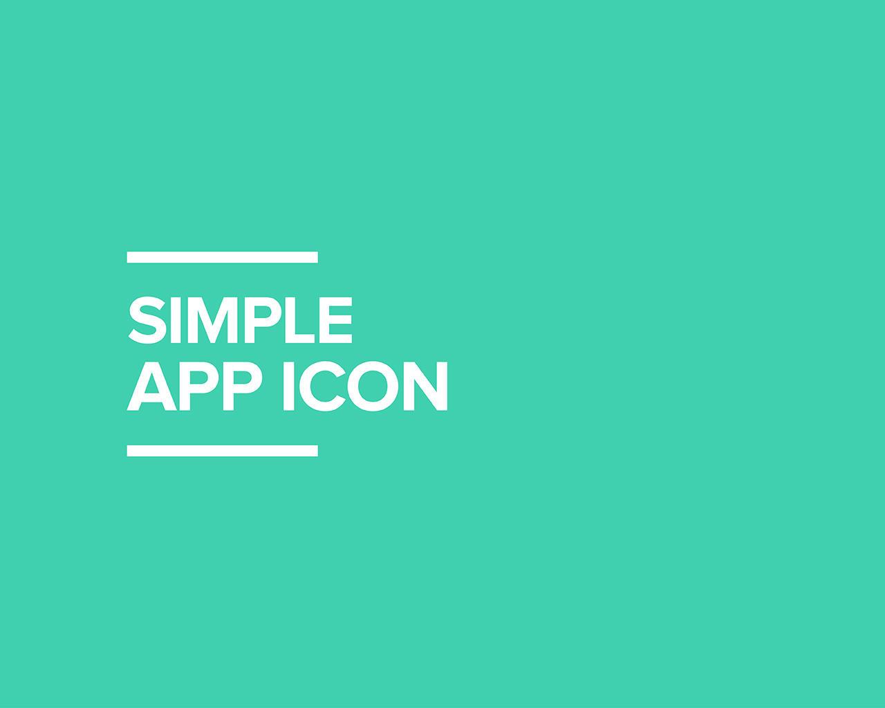 Simple App Icon By 8z On Envato Studio