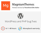 WordPress Themes or PHP Small bug fixes (Warnings, Notices) by dedalx - 60427