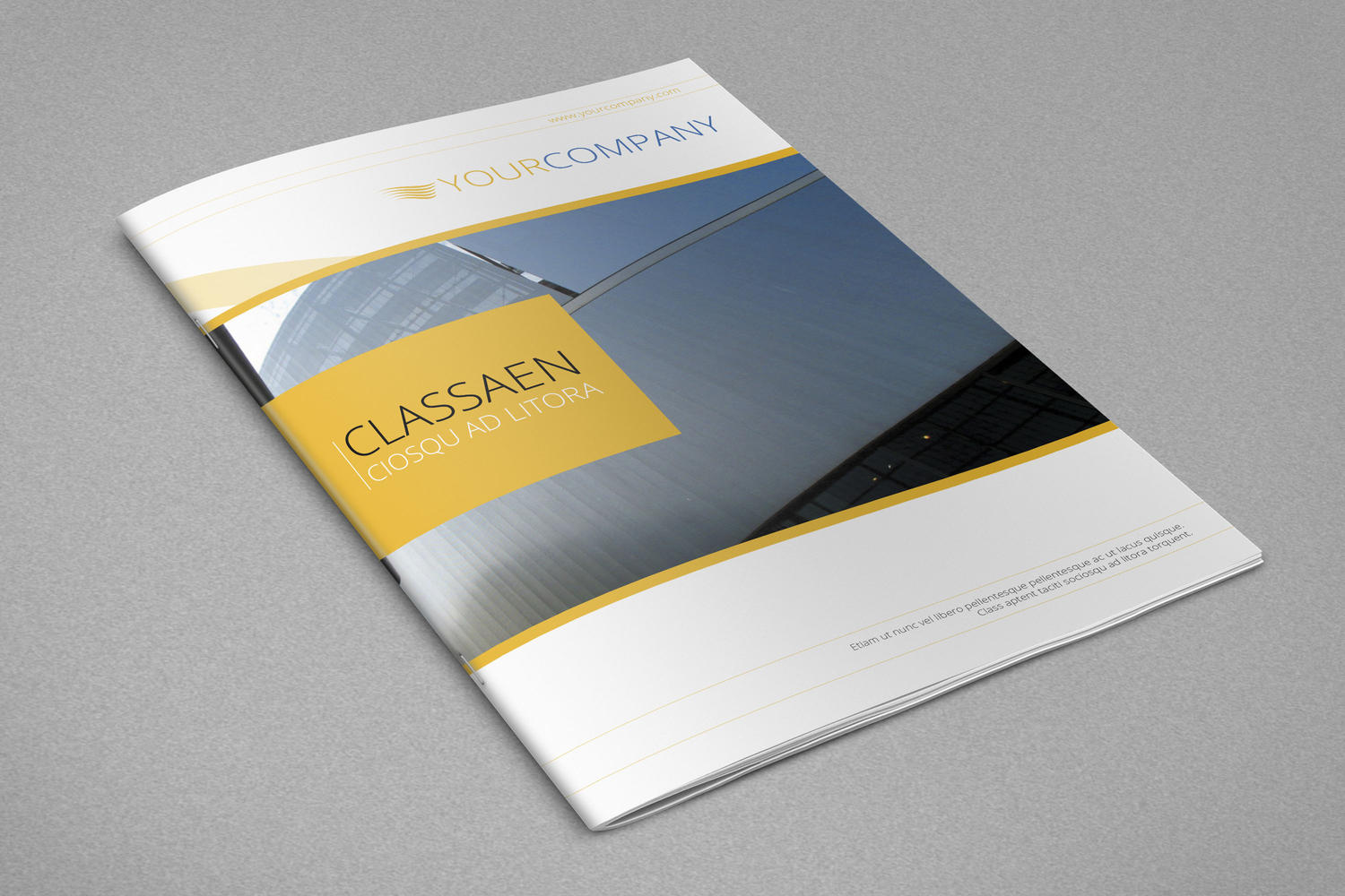 Premium Brochure Design A4 Letter 8 Pages by balkay on