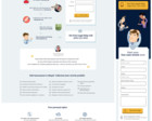 Clean & Fresh Homepage Design / Redesign / Landing Page / One page - custom illustrations by zumzum - 63096