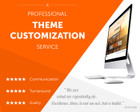 Professional WordPress Theme Customization by xstreamthemes - 63237