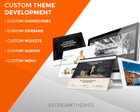 Professional WordPress Theme Customization by xstreamthemes - 63532