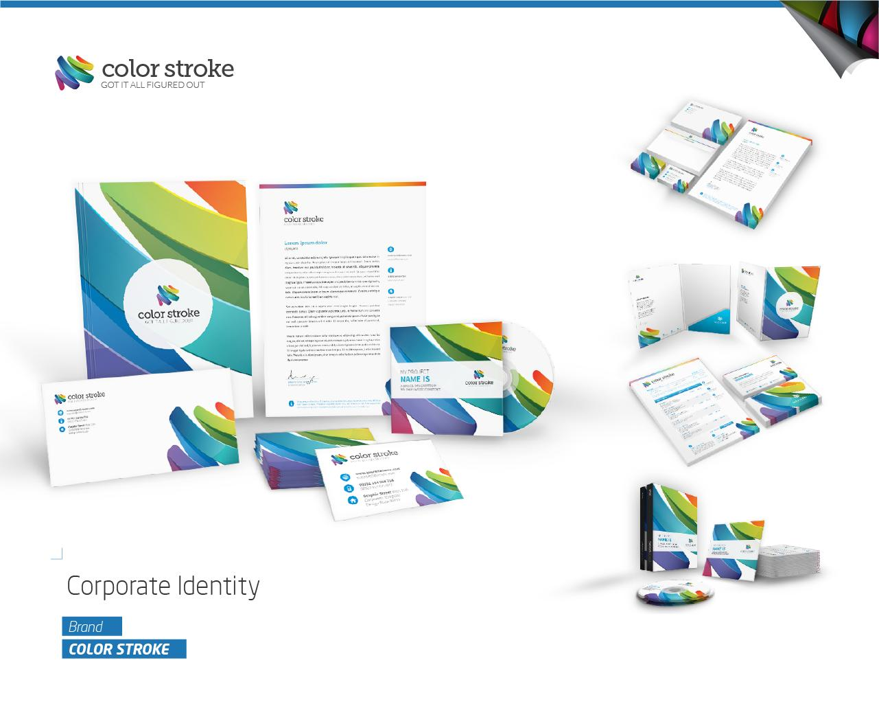 Corporate Identity Stationery Design By Magikpoink On