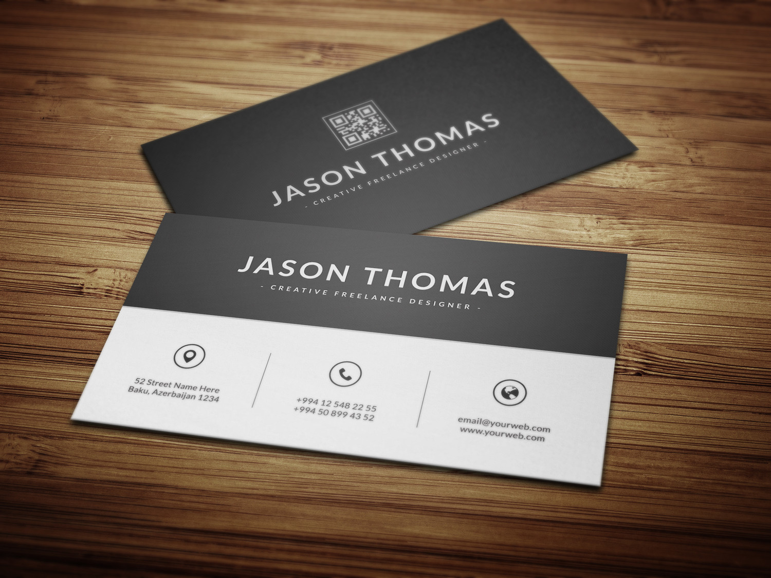 Custom Card Template design a business card : Professional and Creative Business Card Designs by ...