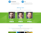 Professional  One  Page  Design  PSD by KonnstantinC - 52911