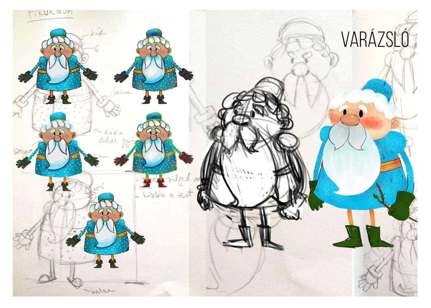 2d Character Design Books : D cartoon style character design by hedif envato studio
