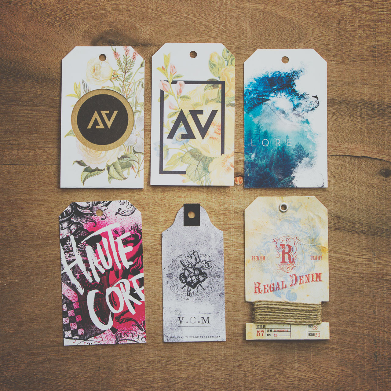 Fashion Apparel Hang Tags By Liquidcomet Envato Studio