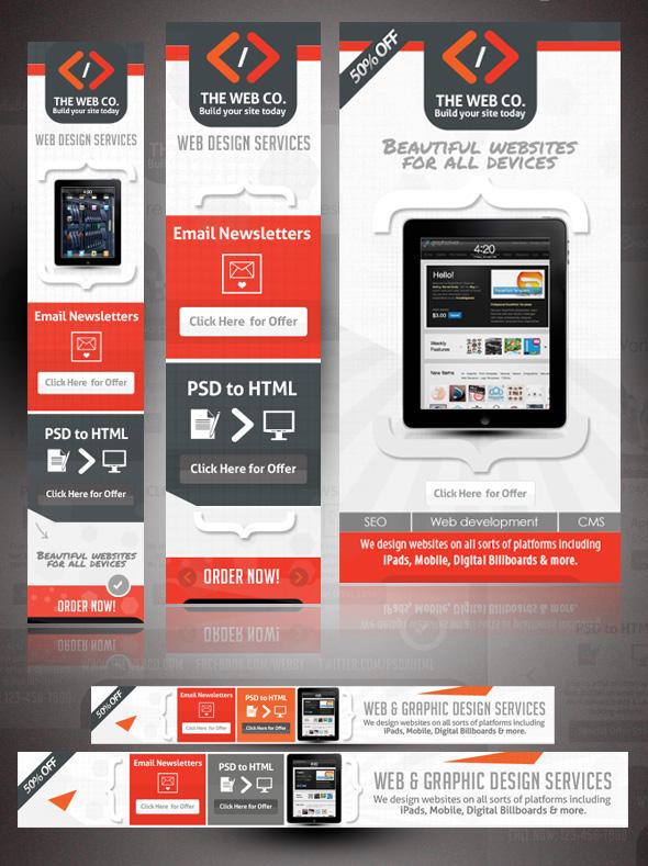 effective web banner design by shermanjackson on envato studio