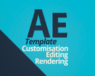 Professional After Effects Template Customisation and rendering  by Ultinato - 56324