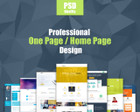Professional  One  Page  Design / Redesign by KonnstantinC - 68303