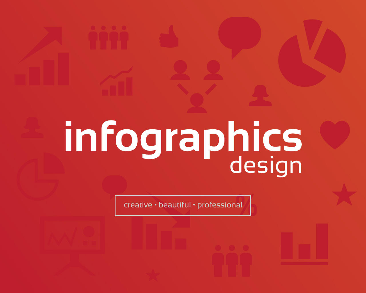 Clean Creative Infographics Design By Projectilestudio On