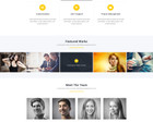 Professional  One  Page  Design / Redesign by KonnstantinC - 68304