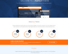 Professional  One  Page  Design  PSD by KonnstantinC - 61466