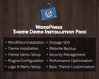 Wordpress Theme Demo Installation Pack (+ Plugin, Logo, SEO, Security, Backup & More) by hasanet - 70667