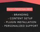 WordPress Customization: Branding, Content Setup, Plugin Installation by BioXD - 71596