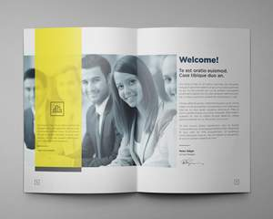 modern corporate brochures / company profile / reports by