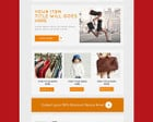 E-Newsletter Template Design by WonderArt - 48184
