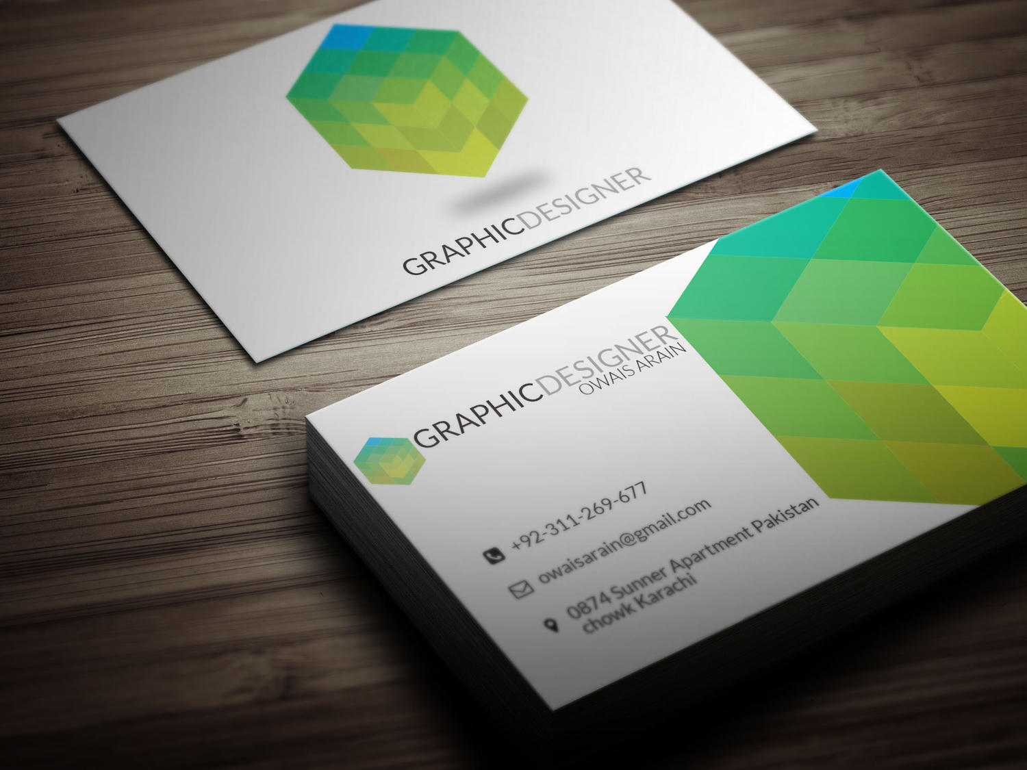 beautiful business card design by muhammadharoon on envato