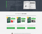 Professional High Converting Homepage Design by fritzelemino - 49722