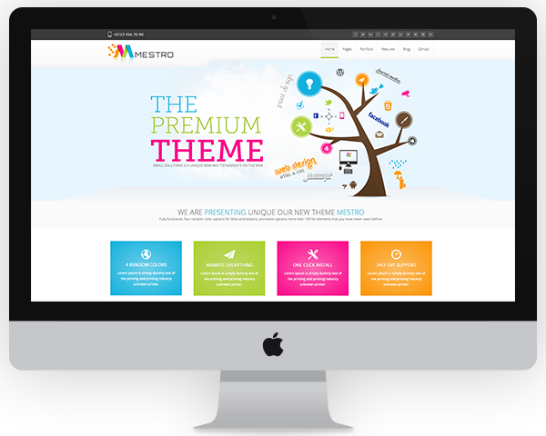 Wordpress Theme Insallation by Dantnan - 38236