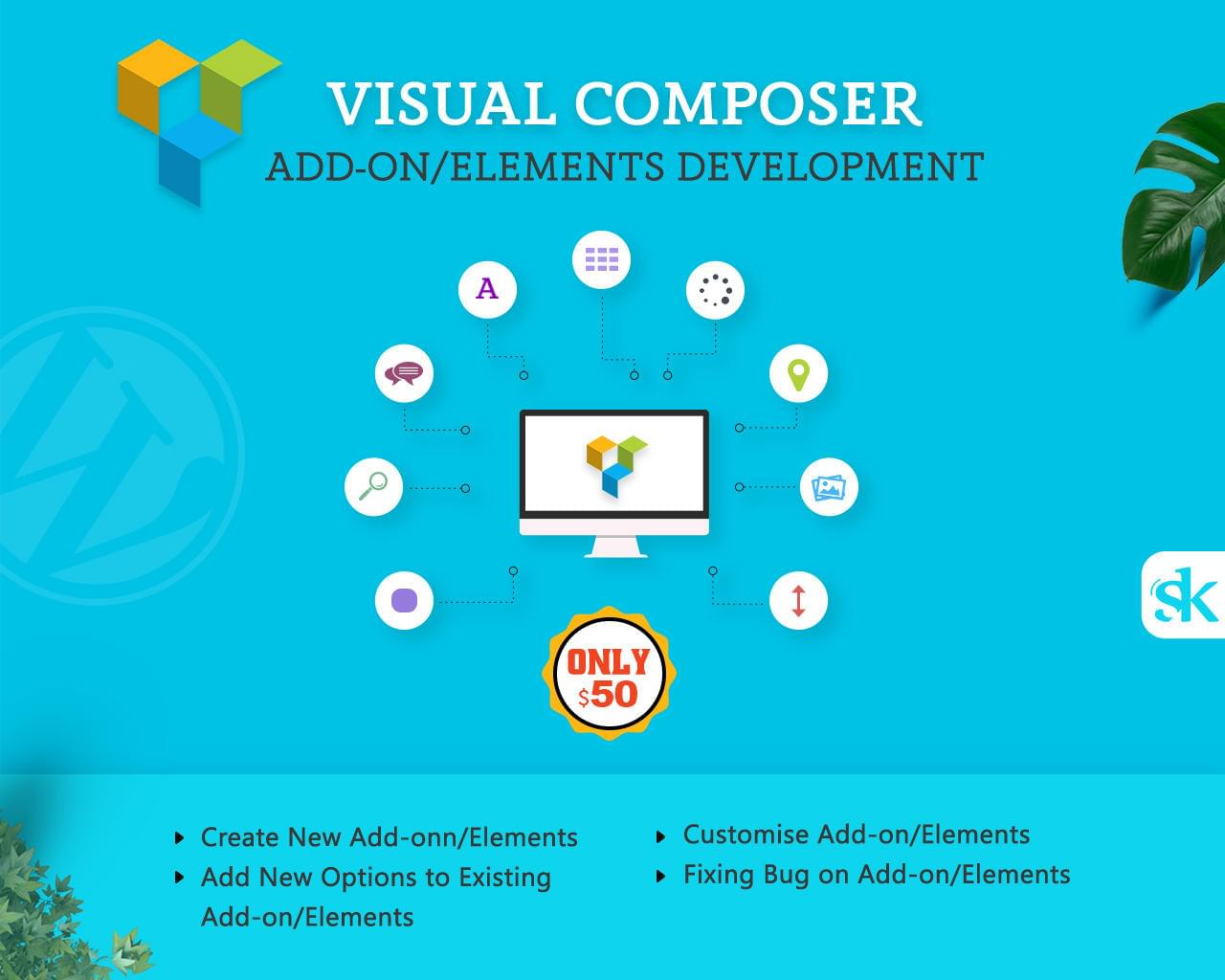 Visual Composer Add-on/Elements Development by SK-Web-Solutions - 112996