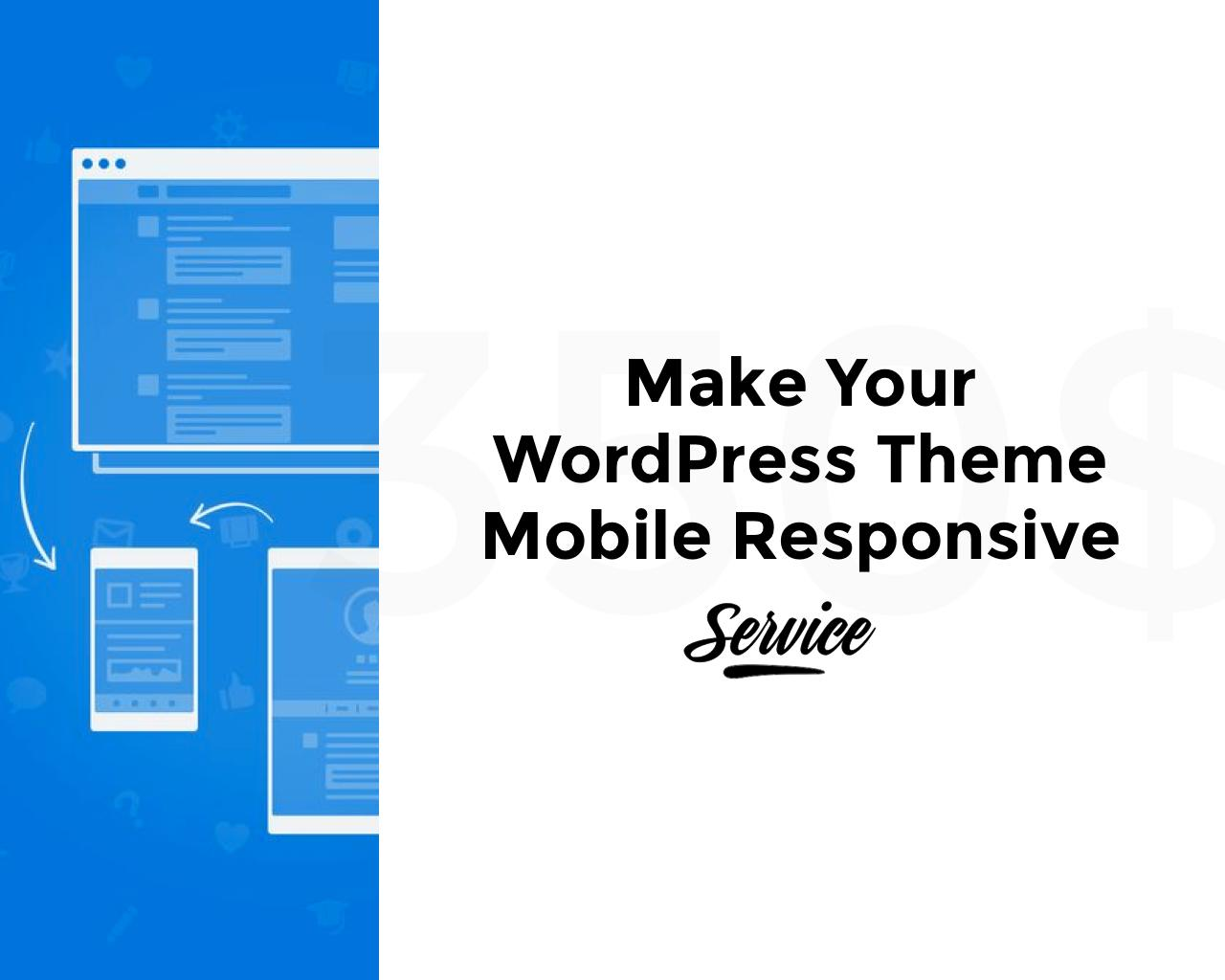 Make your WordPress Theme Mobile Responsive by pixelthrone - 103909