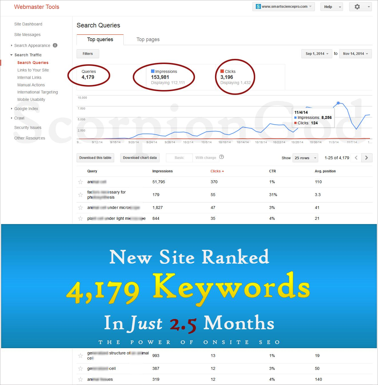 Professional WordPress OnSite SEO by ScorpionGod - 64176