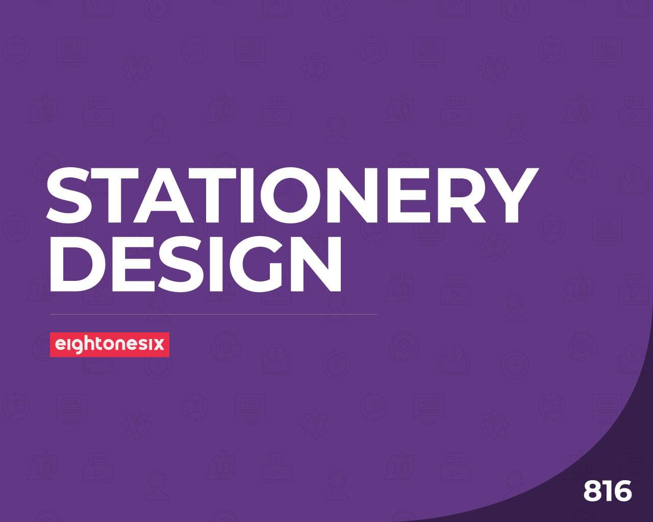 Professional Stationery Design by EightonesixStudios - 112404