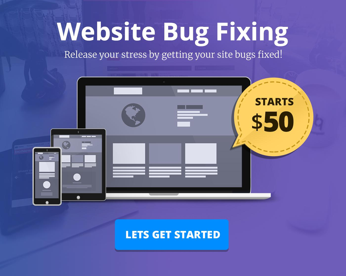 WordPress Website Bug Fixing & Updates by BloomPixel - 110295